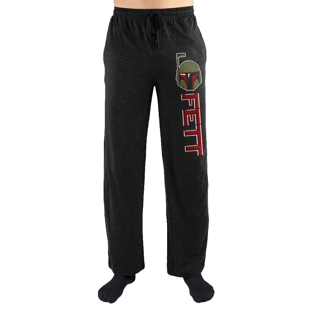 Star Wars Bounty Hunter Boba Fett Men's Loungewear Pajama Lounge Pants - SPNDER, LLC