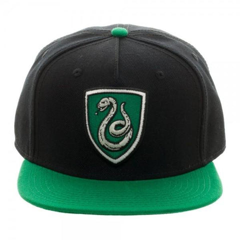 Harry Potter Slytherin Crest Snapback - SPNDER, LLC