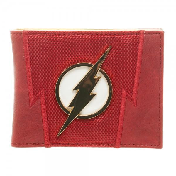 DC Comics Flash Suit Up Bi-Fold Boxed Wallet - SPNDER, LLC
