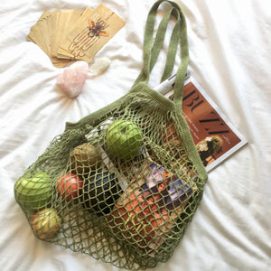 Our Favourite Things Cotton String Shopper Bag
