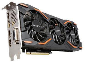 GIGABYTE GeForce GTX 1080 8GB DirectX OverClock Windforce Edition