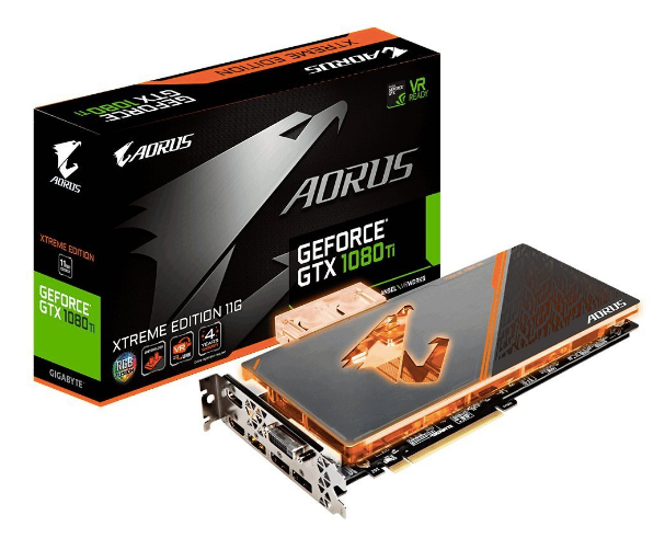 GIGABYTE AORUS GeForce GTX 1080 Ti 11GB Waterforce WB Xtreme Edition