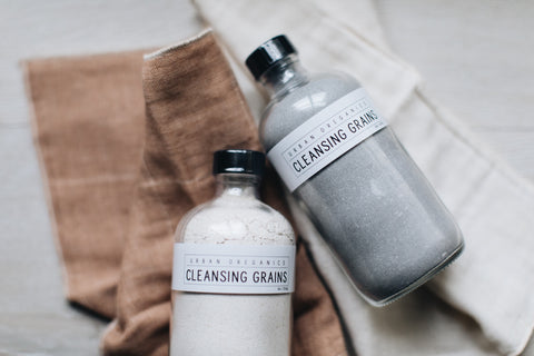 CLEANSING GRAINS + MINI TOWEL