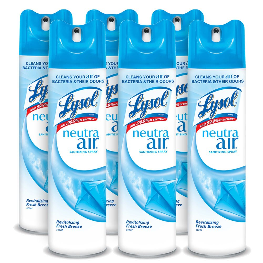 6 Pack Lysol Neutra Air