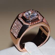 Rising Diamond Cz Ring