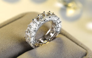 Single Row Cz Ring