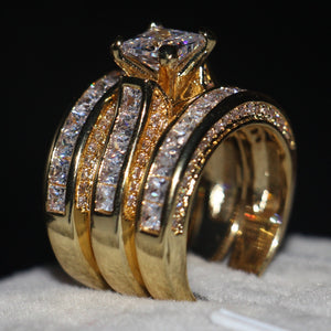 Holy Zircon (3 in 1) Cz Ring