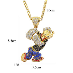 Icy Popeye Necklace (Limited Time Offer)