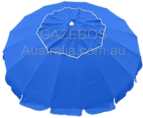 Royal blue maxibrella beach umbrella