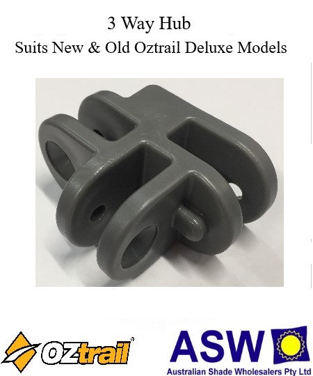 OZtrail 3 Way Hub for Deluxe Gazebos