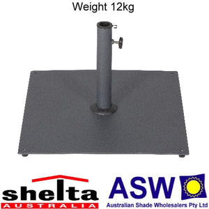 Shelta Small Steel Umbrella Base 50cm x 50cm