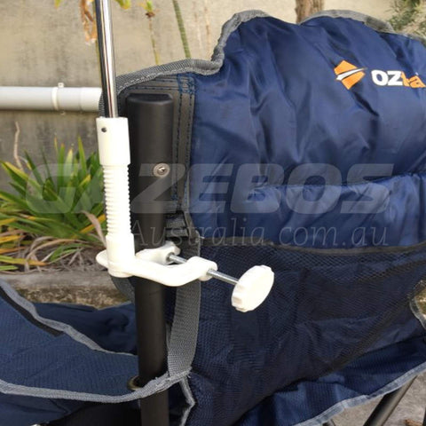 OZtrail 120cm Chair Umbrella Royal/Navy
