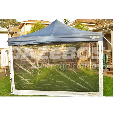 4.5m OZtrail Gazebo Mesh Side Wall with Centre Zip