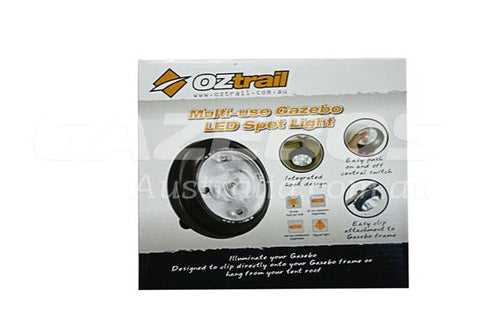 OZtrail Multi Use Gazebo Spot Light (Set 4)