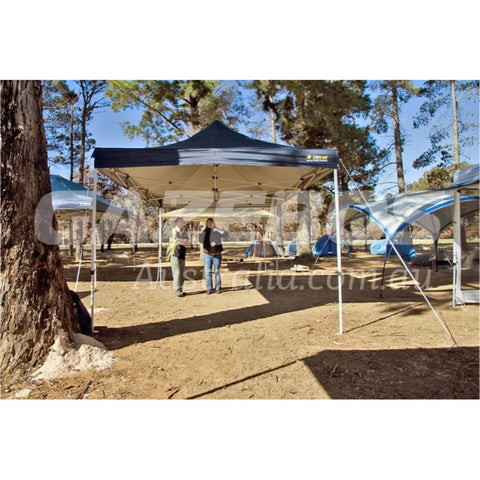 4.5m x 3m Replacement Canopy for OZtrail Deluxe 4.5 Gazebo Blue