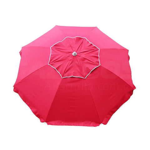 Beachkit Beachcomber Red 210cm Beach Umbrella