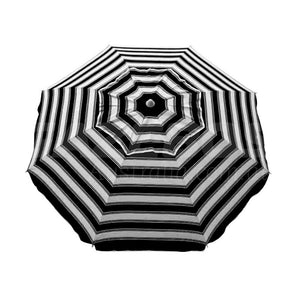 Beachkit Daytripper Black White 210cm Beach Umbrella