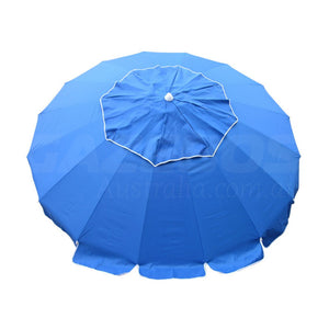 Beachkit Maxibrella Royal 240cm Canopy Vent Beach Umbrella
