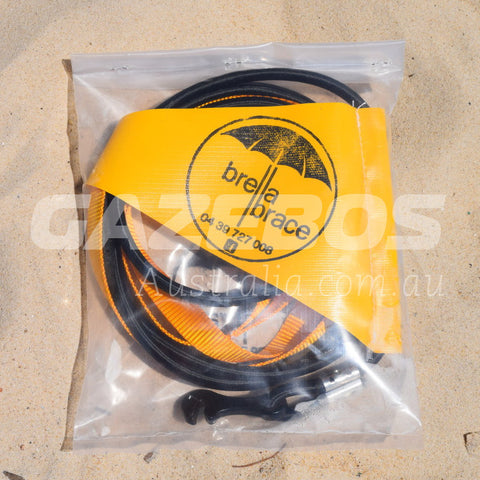 Brella Brace Beach Umbrella Securing System