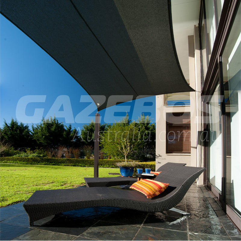 Coolaroo 95% UV Commercial Shade Sail Rectangle 5m X 3m