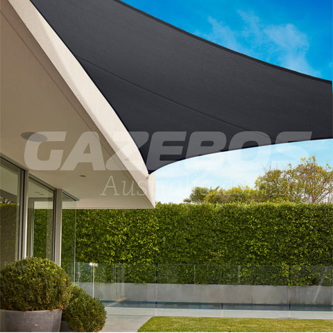 Coolaroo 95% UV Commercial Shade Sail Triangle 5m x 5m x 5m Shadecloth