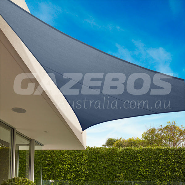 Coolaroo 95 Uv Commercial Shade Sail Triangle 5m X 5m X
