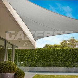 Coolaroo 95% UV Commercial Shade Sail Triangle 6.5m x 6.5m x 6.5m Shadecloth