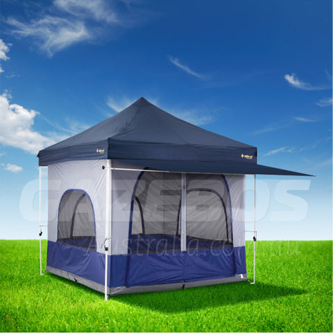 Oztrail Family Camping Gazebo Package