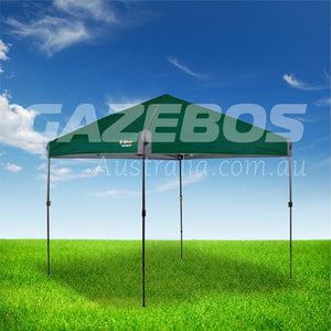 OZtrail Compact 2.4 Gazebo with Green Canopy 2.4m x 2.4m
