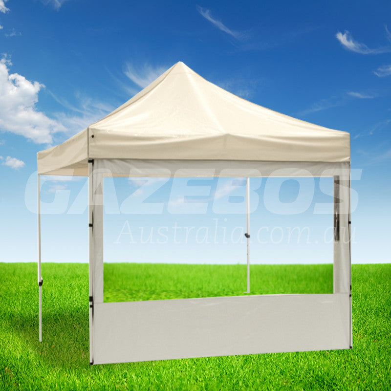 3m OZtrail Gazebo Heavy Duty Side Wall with PVC Window White - Set Of 3