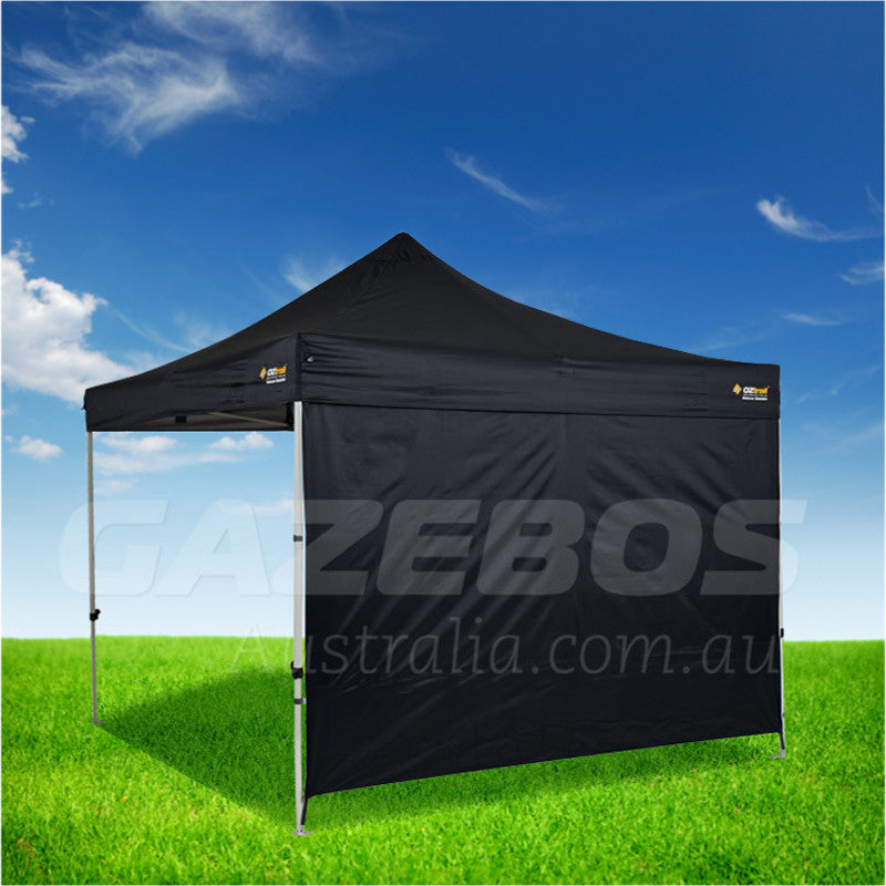 3m OZtrail Gazebo Heavy Duty Side Wall Black