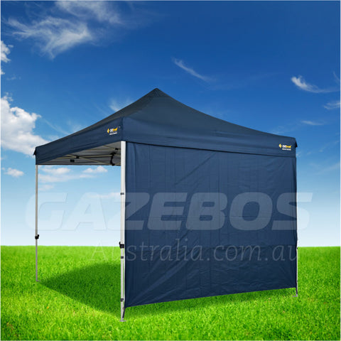 3m OZtrail Gazebo Heavy Duty Side Wall Blue