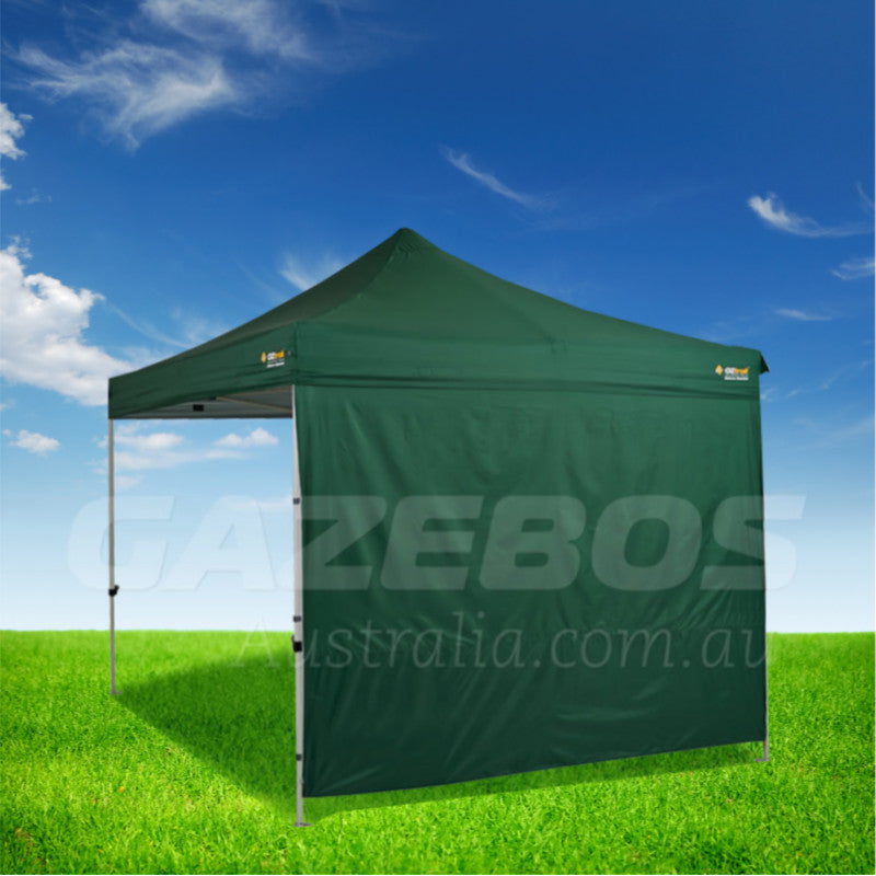 3m OZtrail Gazebo Heavy Duty Side Wall Green