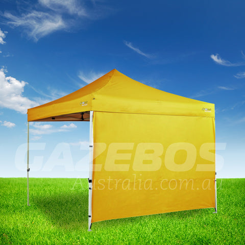 3m OZtrail Gazebo Heavy Duty Side Wall Yellow