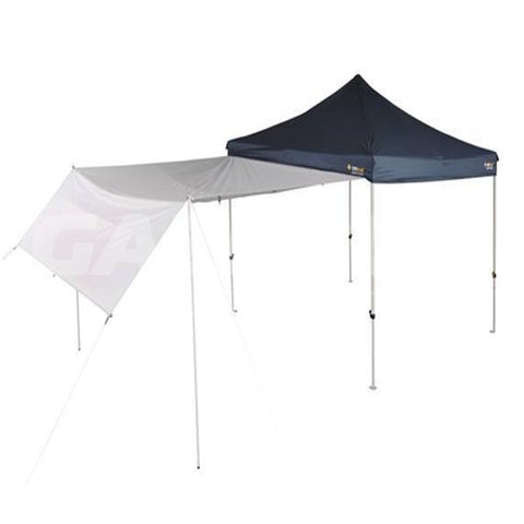 3m OZtrail Gazebo Multi-Purpose Wall Awning