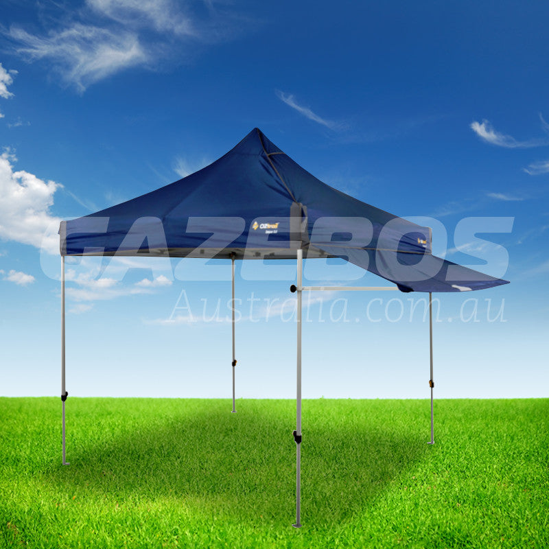 OZtrail Removable Awning Kit Blue 2.4m to suit Deluxe 2.4 Gazebo