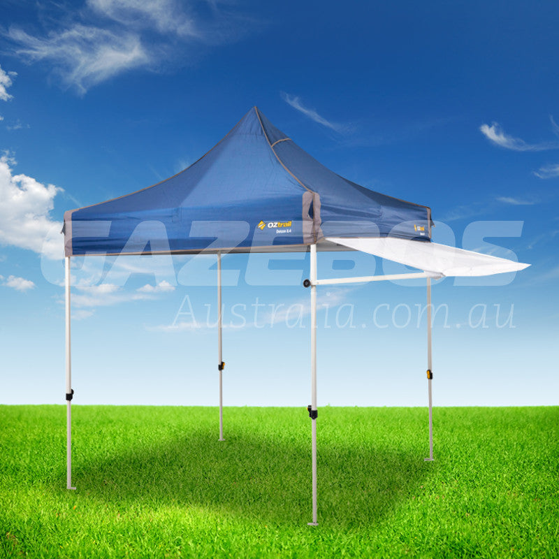 OZtrail Removable Awning Kit White 2.4m to suit Deluxe 2.4 Gazebo