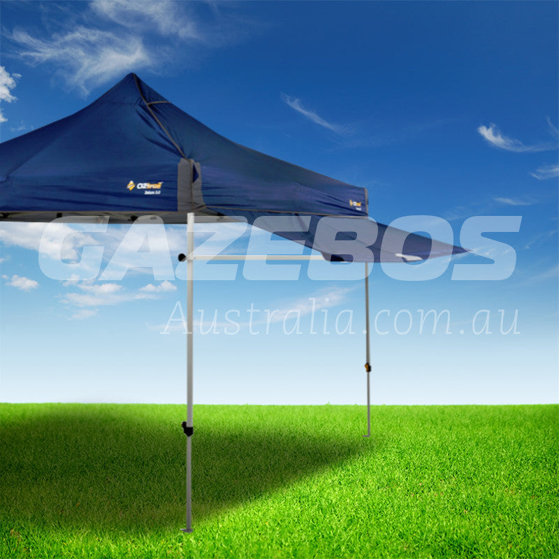 Product Detail & OZtrail Removable Awning Kit Blue 3m to suit Deluxe Gazebo u2013 Gazebos ...