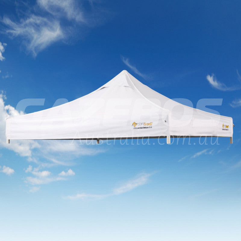 3m x 3m Replacement Canopy for OZtrail Commercial Deluxe 3.0 Gazebo White