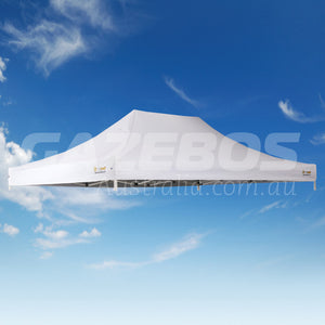 4.5m x 3m Replacement Canopy for OZtrail Commercial Deluxe 4.5 Gazebo White