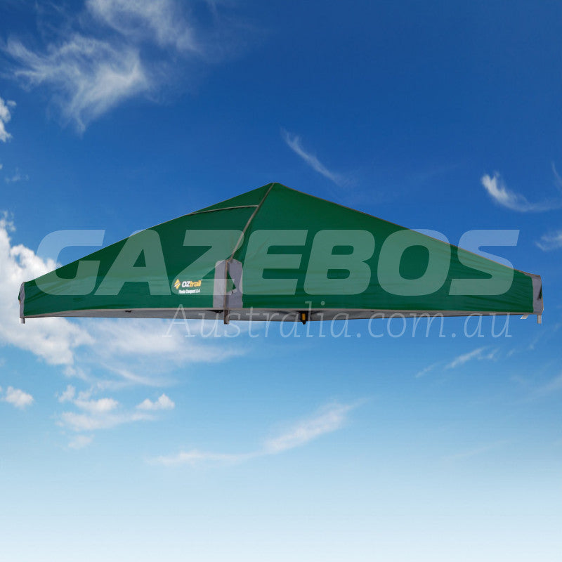 2.4m X 2.4m Replacement Canopy for OZtrail Fiesta Compact Gazebo Green
