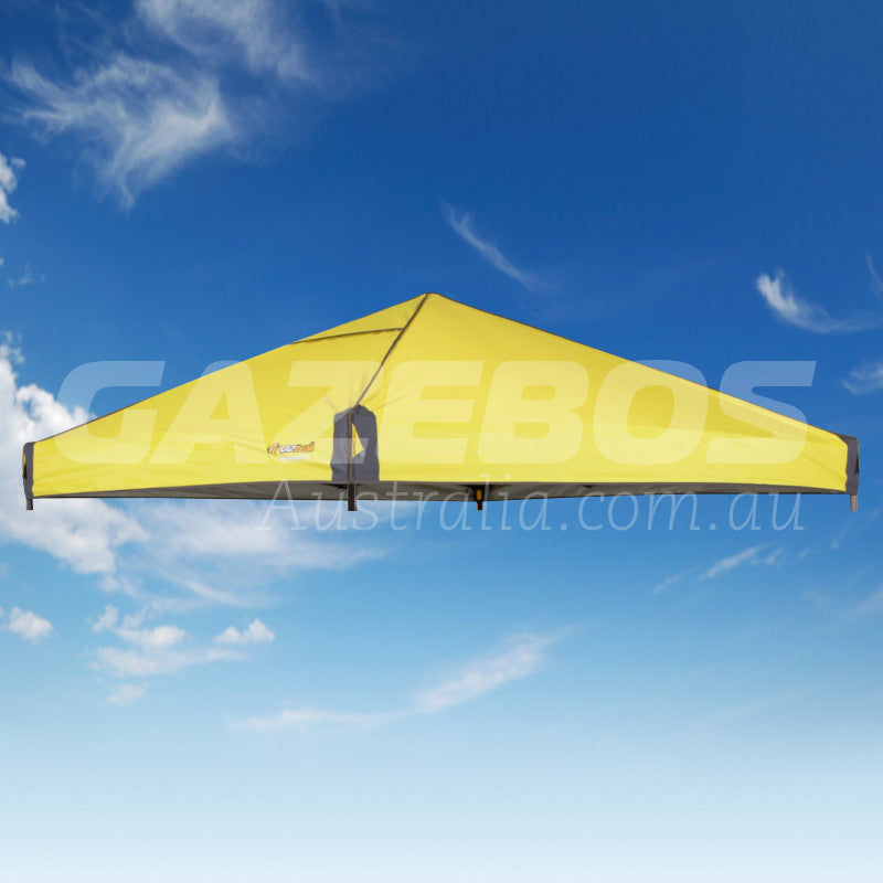 2.4m X 2.4m Replacement Canopy for OZtrail Fiesta Compact Gazebo Yellow