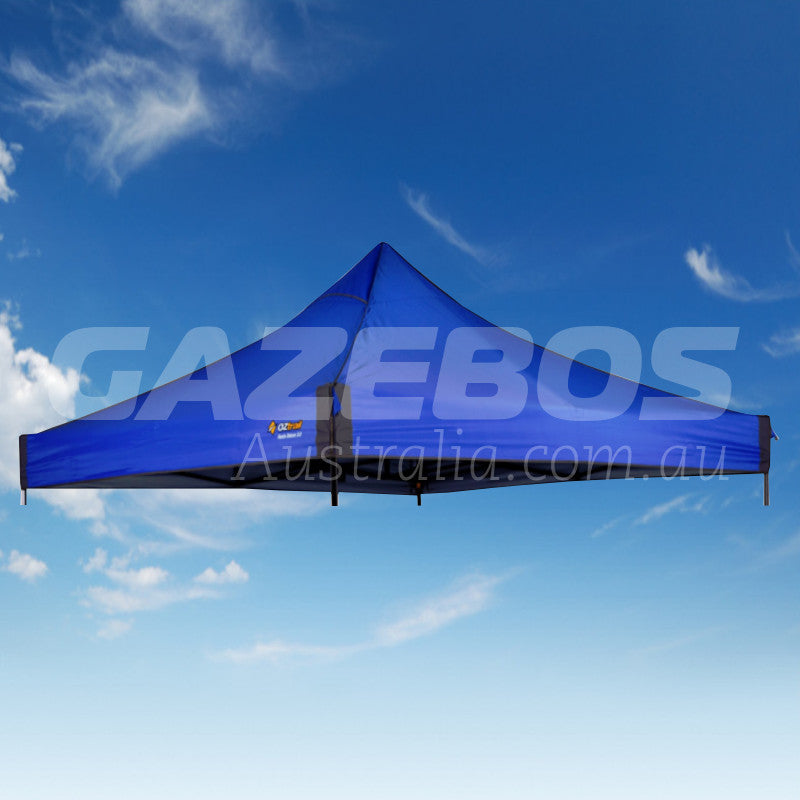 2.4m X 2.4m Replacement Canopy for OZtrail Fiesta Deluxe Gazebo Blue