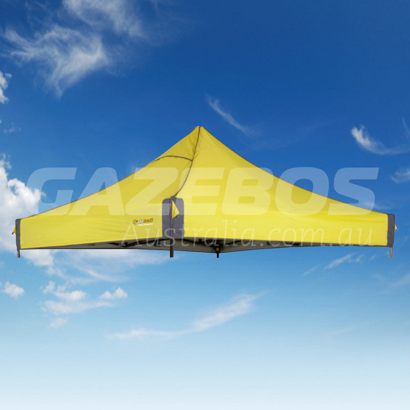 2.4m X 2.4m Replacement Canopy for OZtrail Fiesta Deluxe Gazebo Yellow