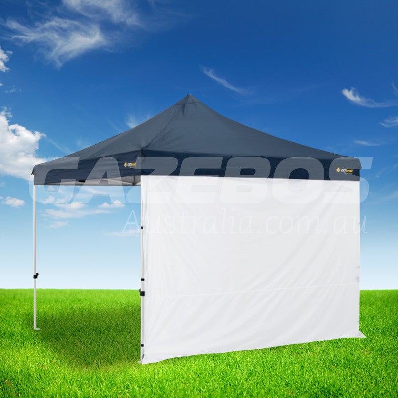 3m OZtrail Gazebo Solid Side Wall