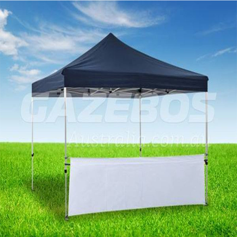 3m OZtrail Gazebo Solid Side Wall Half Height