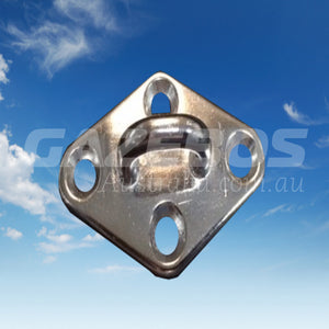 Pad Eye Diamond Cast Stainless Steel