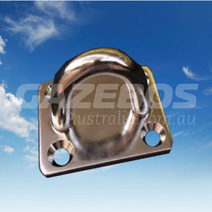 Pad Eye Rectangular Stainless Steel