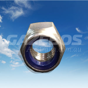 Nylon Lock Nut Stainless Steel