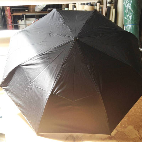 Shelta Black/Silver UPF50+ Folding Rain Umbrella